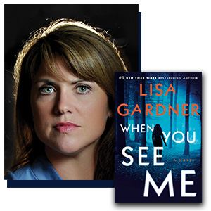 "Author Lisa Gardner and her latest book, ""When You See Me"""