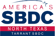 small business development center, sbdc, tarrant county, logo