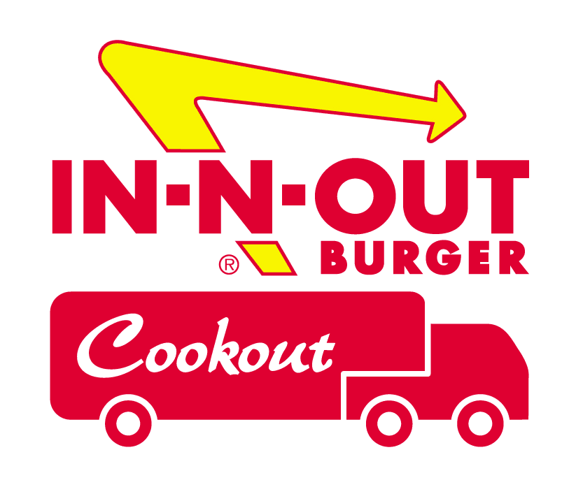 In-N-Out Cookout Logo Color