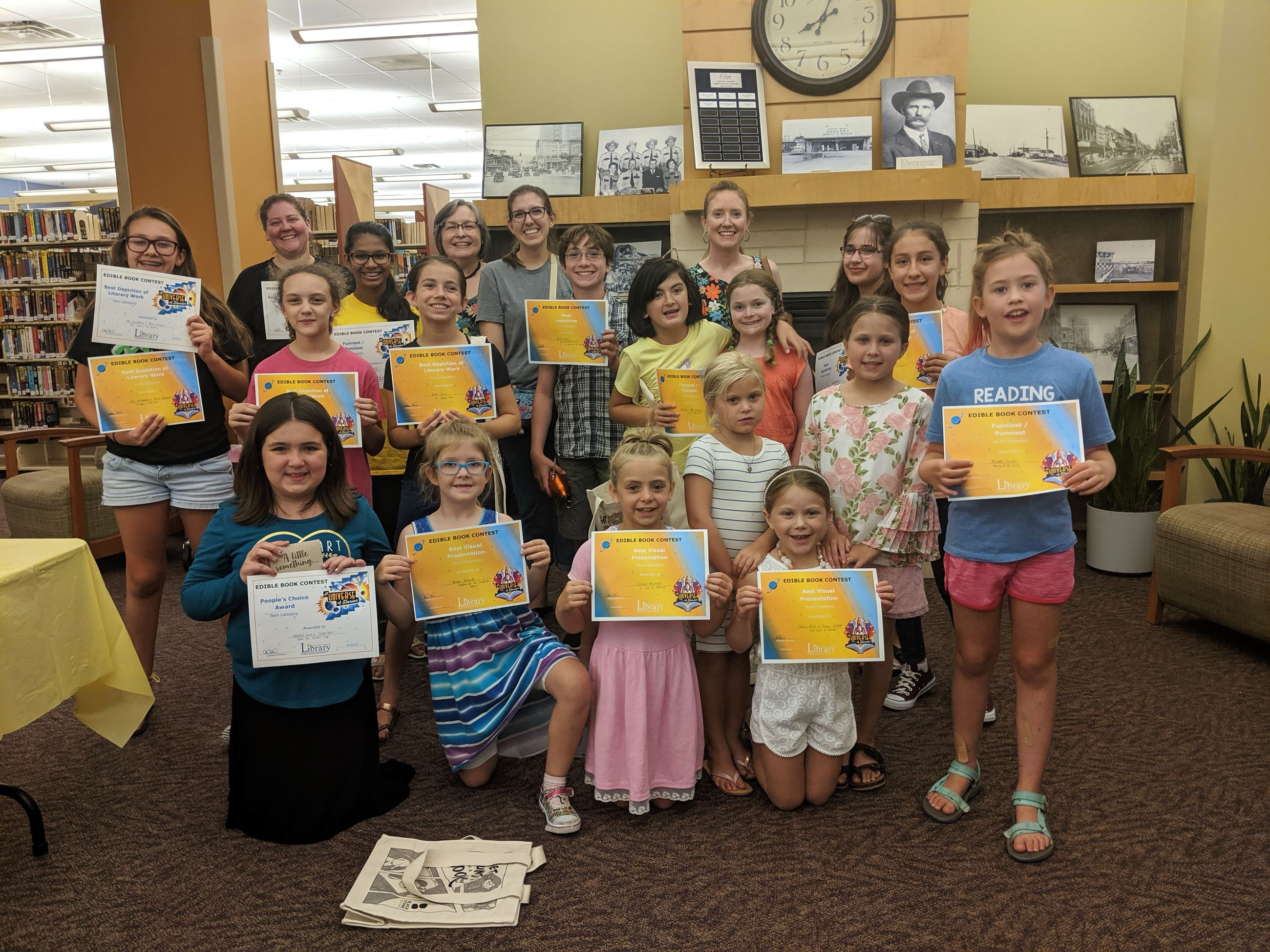 Edible Book Contest Winners
